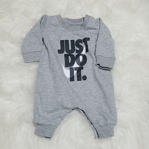 Nike baby onesie